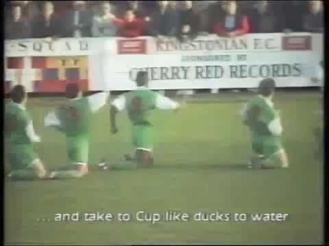 KINGSTONIANS FC V AYLESBURY UNITED FC - 2ND ROUND FA CUP 1994 - 1-4 - 3RD DECEMBER 1994 elmswood48@gmail.com