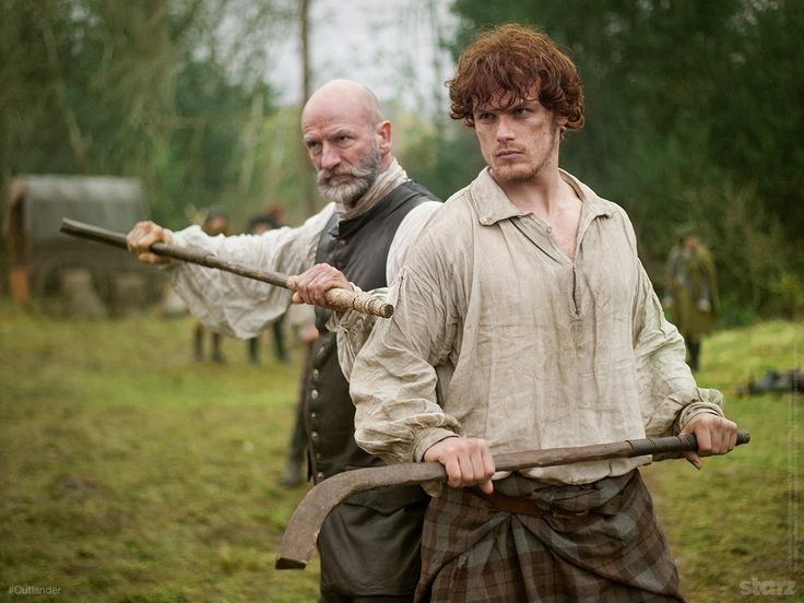 """Outlander's """"Shinty"""" has always reminded me of field hockey. Kilts, sticks, grass, aggressive teamwork, potential for severe injuries. . . Just goes to show, REAL Hockey is played on GRASS!! *Teasing, not meant to offend.*"""