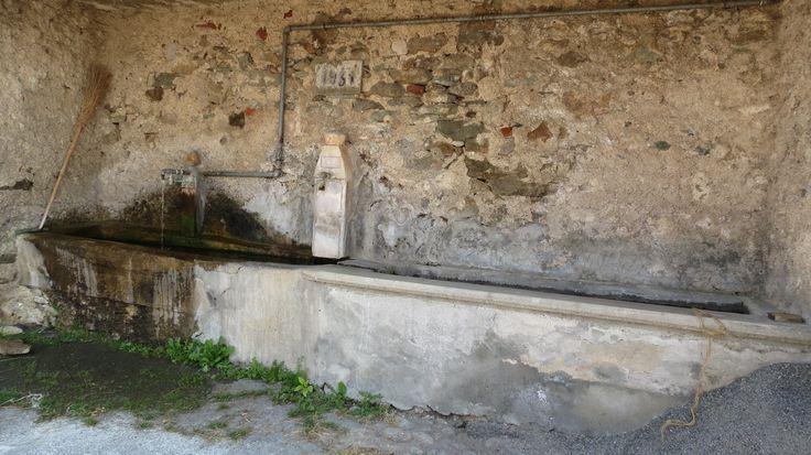 Quarzina, il lavatoio del 1931