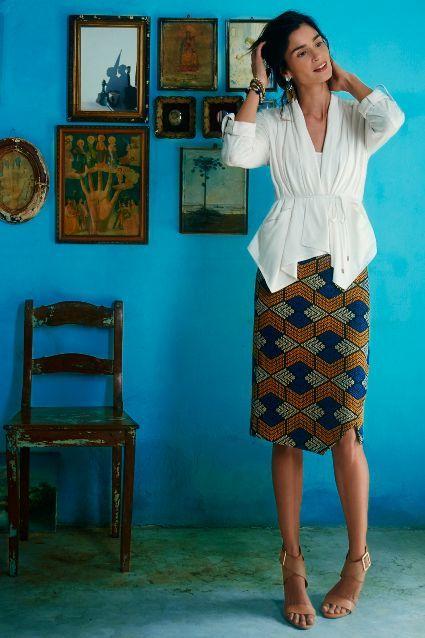 Kanara Pencil Skirt - anthropologie.com