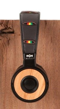 House Of Marley Headphones are our new favorite ear candy! Check out the Redemption Song On-Ear Headphones and keep jammin'!