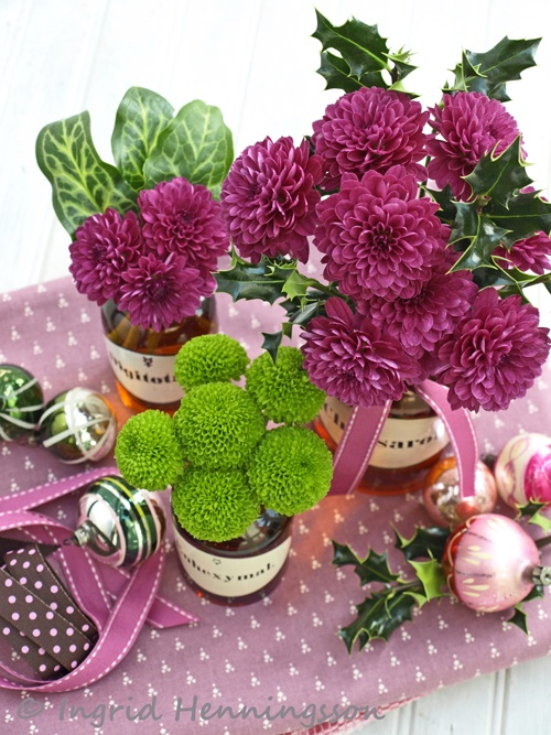 Of Spring and Summer: Pink and Green Christmas