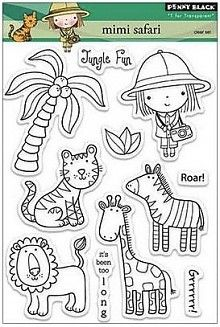Penny Black Mimi Safari Clear Stamps (30-149)