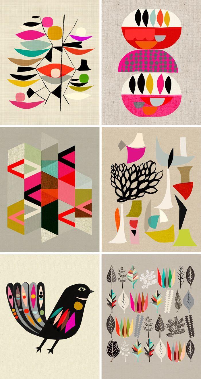 Inaluxe Graphic Design and Illustrations – Illustration à encadrer (mur de cadr…