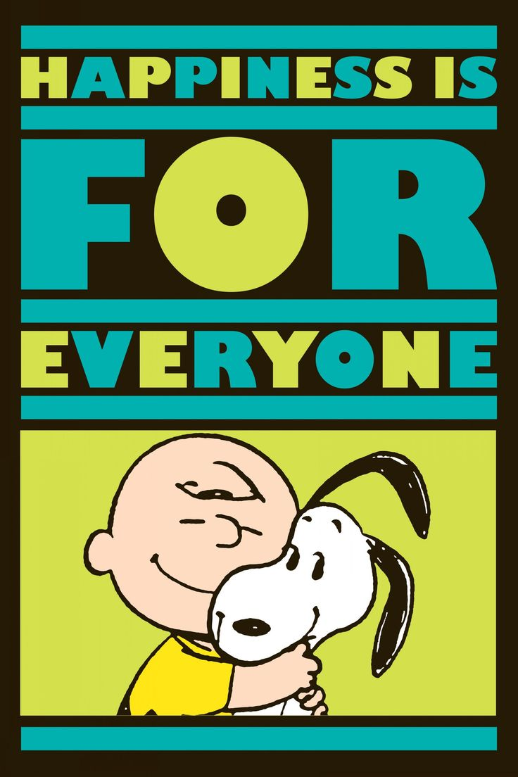Happiness is for Everyone Charlie Brown