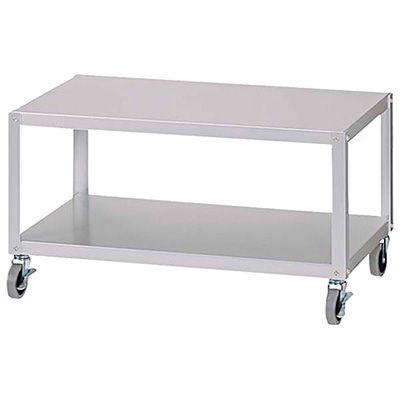 無印良品 | アルミローテーブルワゴン大R75.5*43.5*40cm天板サイズ 通販