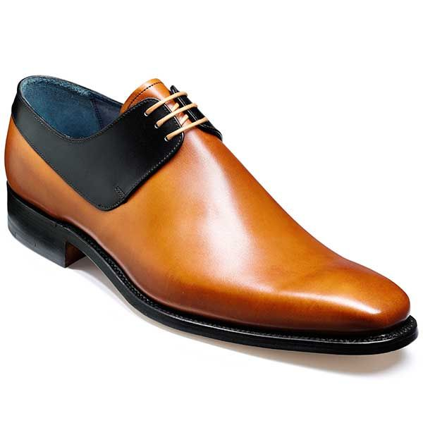 NEW!! Barker Shoes - Kurt Cedar Calf / Black Edges