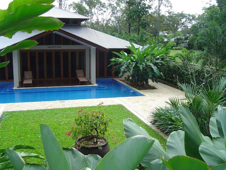 Tropical Backyards | Formal Tropical Garden Design