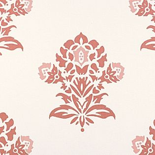 #textile #fabrics #interiordesign Arboretum by Nina Cambell, Osborne & Little  Coral Jaipur Fabric by the Yard | Serena & Lily
