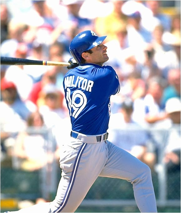 Paul Molitor - Milwaukee Brewers, Toronto Blue Jays & Minnesota Twins