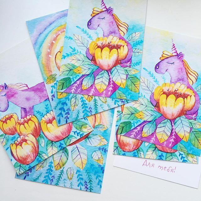 Готовлю новые открытки для своего магазина ✨ кто ещё не был в нем ссылка в профиле скоро добавлю новые товары ✨ #prokhorovaart