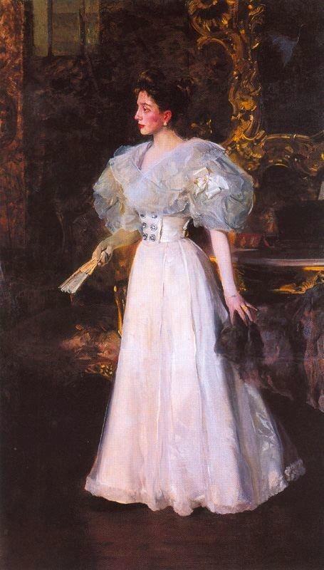 Doña Elvira Valdés de Errázuriz by Joaquín Bastida y Sorolla,1897