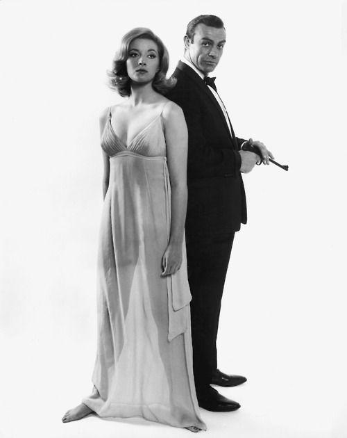 "Tatiana Romanova & James Bond - Daniela Bianchi & Sean Connery in the movie ""From Russia with Love"" - 1963: Bond Jam, Bondgirls"