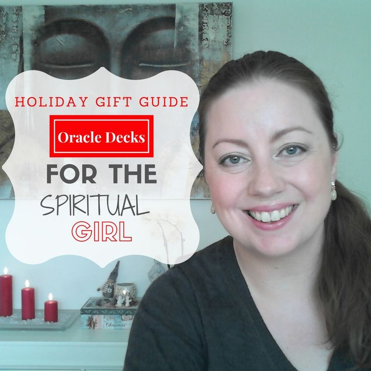 Holiday Gift Guide for the spiritual girl: Oracle decks