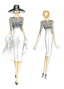 Patrón de costura Vestidos 3153                                                                                                                                                     Más
