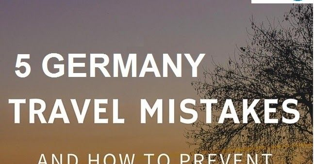 Numerous individuals apply for Germany Visa every year. In the wake of exhibiting the application form, supporting archives and processing fees, you will need to sit tight for your visa. But very common mistakes can ruin the visa endorsement process so be sure to avoid commonly made mistakes.