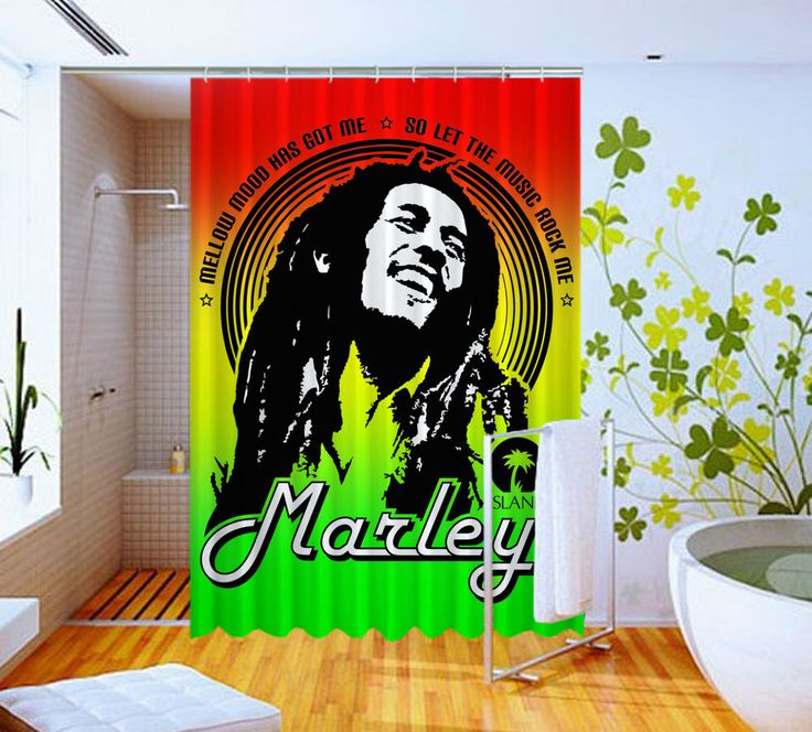 Bob Marley Jamaika Reggae High Quality Custom Shower Curtain 60 x 72 #Unbranded #Modern #Unbranded #Modern #BestQuality #Cheap #Rare #New #Latest #Best #Seller #BestSelling #Cover #Accessories #Protector #Hot #BestSeller #2017 #Trending #Luxe #Fashion #Love #ShowerCurtain #Luxury #LimitedEdition #Bathroom #Cute #ShowerCurtain #CurtainGift
