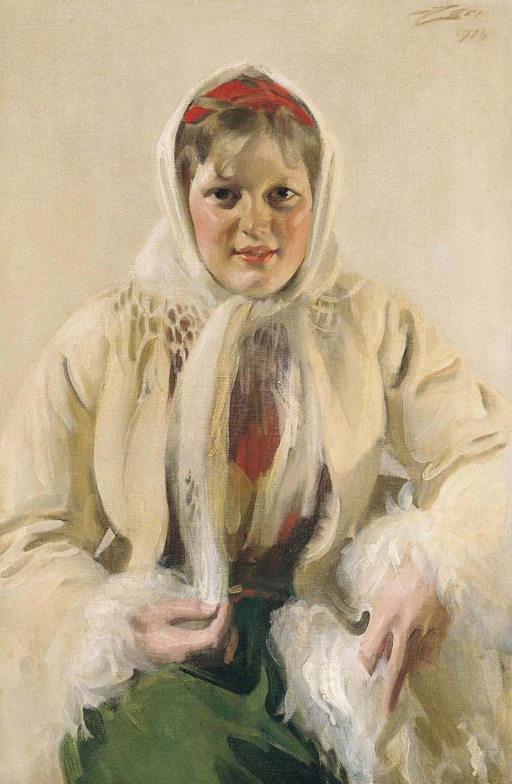 peasant woman by Anders Zorn