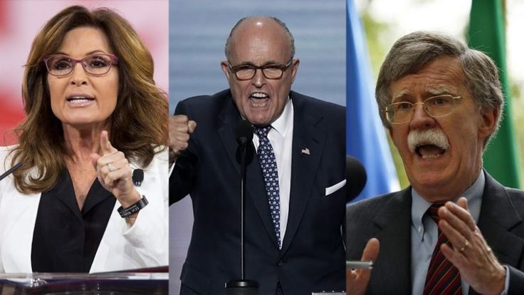 """""""Genuinely Terrifying Prospect"""": Greenwald on Palin, Giuliani & Bolton Serving in Trump's Cabinet..."""