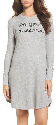 Women's Kate Spade New York Thermal Sleep Shirt  #fashion #stuffiwant #afflink #sexy #sleepwear #nightgown
