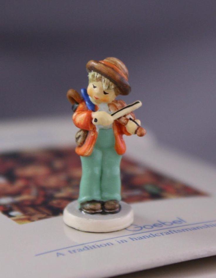 Goebel Little Fiddler Vintage Hummel Miniatures Figurine Olszewski 250-P | eBay