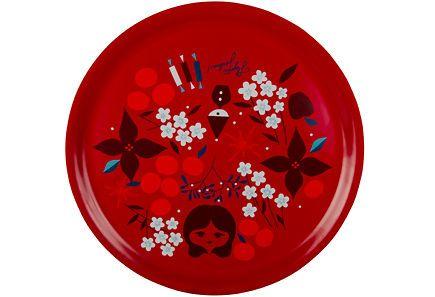 House Aatonaatto tarjotin 35 cm - tämä on kaunis ja käyttäisin kyllä vuoden ympäri