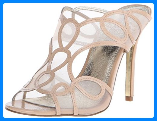 Michael Michael Kors Divia Ankle Strap Damen US 8.5 Natur Sandale - Sandalen für frauen (*Partner-Link)