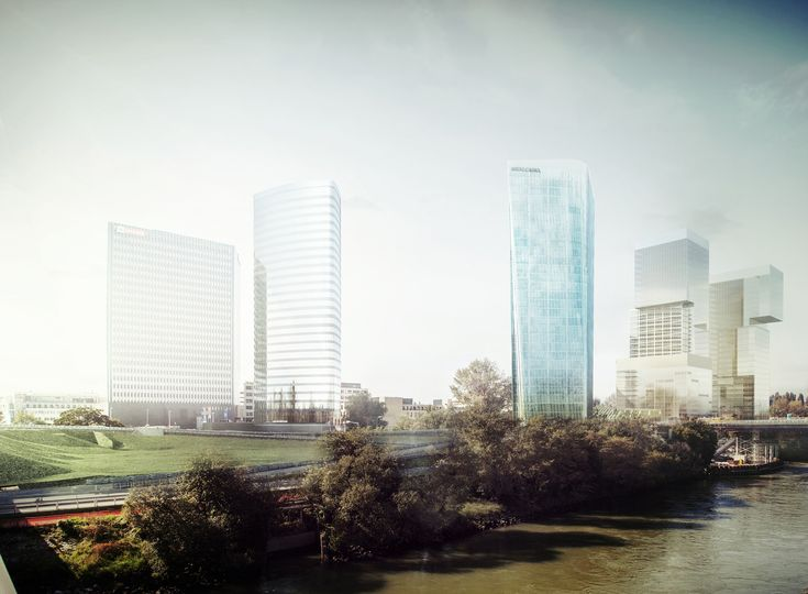 Gallery of AZPML and SHARE Selected to Design 115-Meter Viennese Office Tower - 3