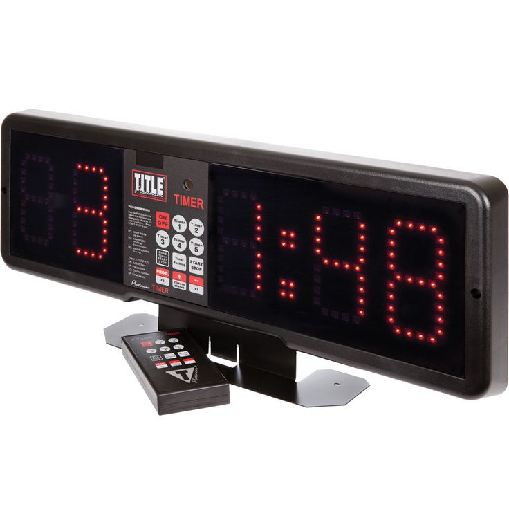 Title Boxing Platinum Professional Fight & Gym Timer #TitleBoxing