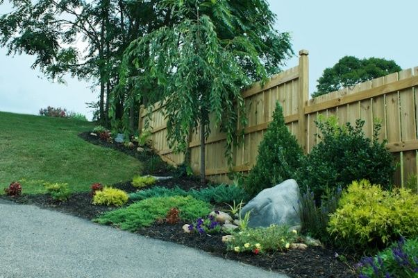 fence row landscaping | The beauty of Fences | Pinterest
