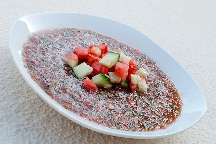 vegan rå mat raw food gazpacho oppskrift