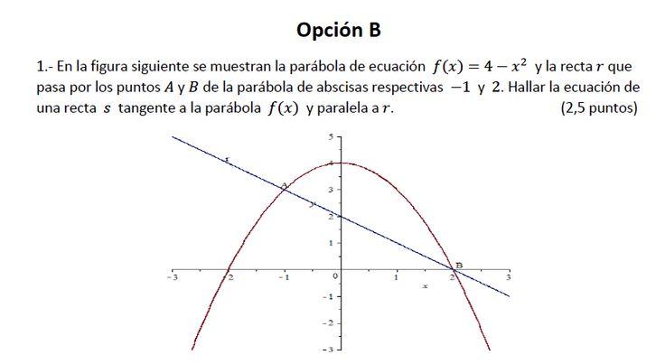 Ejercicio 1B 2013-2014 Julio. Propuesto en examen pau de Canarias. Matemática. Continuidad, derivabilidad y representación de funciones. Límites.
