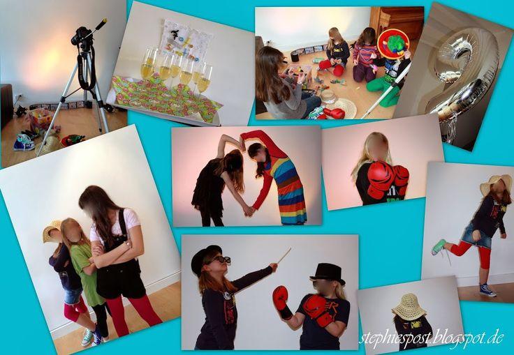 Kindergeburtstag für große Mädchen { Fotoshooting-Party } ⋆ einfach Stephie