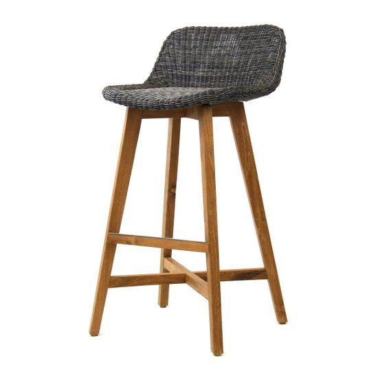 FBS98 Skal Kitchen Stool - Irish Coffee