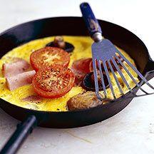 Een hartig ontbijt op een telvrije dag!