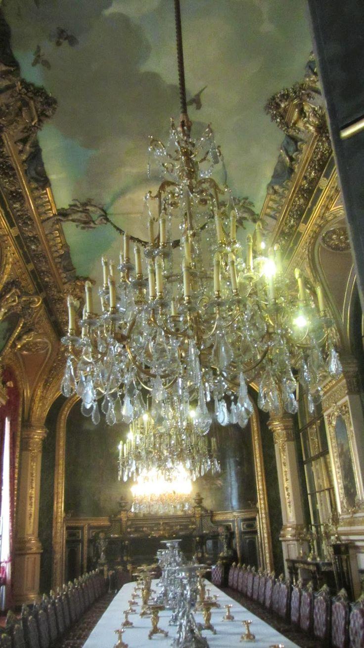FOTOS AL ANDAR: MUSEO EL LOUVRE; Habitaciones del Rey Louis XVI
