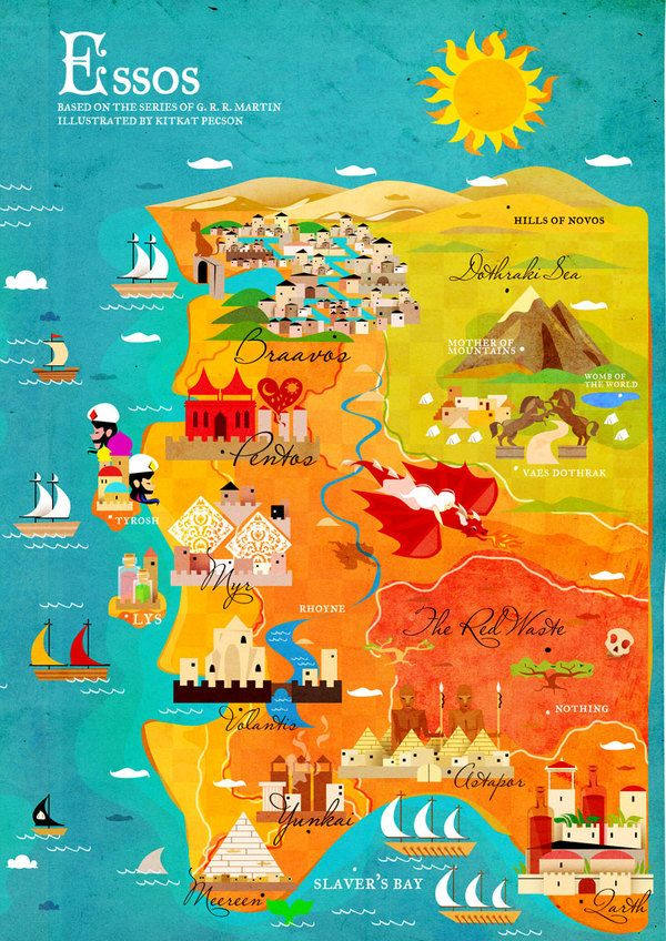 156 best maps of fantastic places images on pinterest fantasy map a map of ice and fire game of thrones by kitkat pecson via gumiabroncs Choice Image
