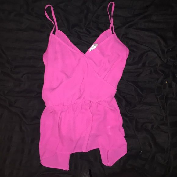 Pink strappy top Cute tank for days where you want to dress up a little! Tildon Tops Tank Tops