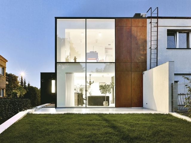 Perforated House by Piotr Kluj and Pawel Litwinowicz - News - Frameweb #architecture #design #house #residence