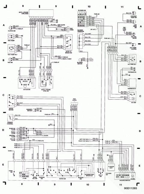 17  1990 Dodge Truck Wiring Diagram -