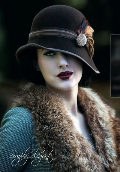 '20s style cloche. by Dittekarina