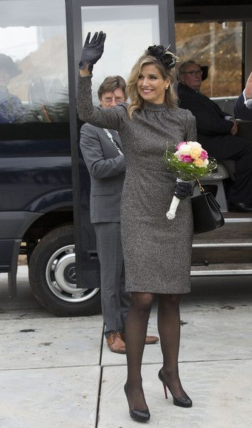 ♥•✿•QueenMaxima•✿•♥King Willem-Alexander and Queen Maxima of the Netherlands Visit Former Mining Region - Zimbio