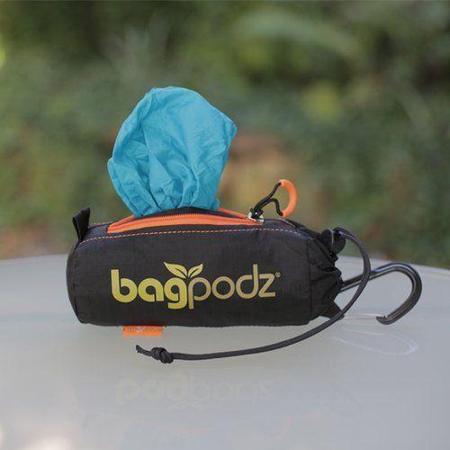 BagPodz Reusable Bag and Storage System - Caribbean Blue ...