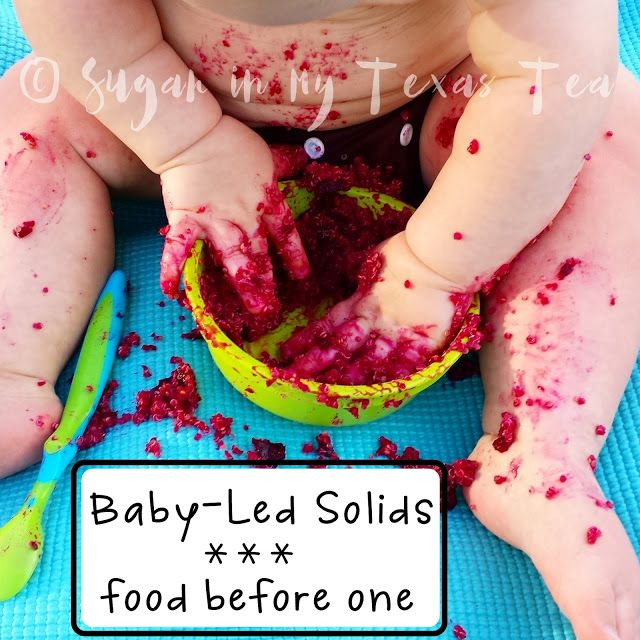 Baby Led Weaning: Food Before One