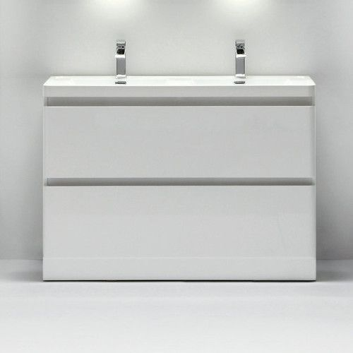 Web Image Gallery Found it at AllModern Glazzy Double Bathroom Vanity Set