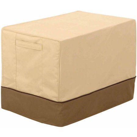 classic accessories veranda window air conditioner cover beige - Air Conditioner Covers