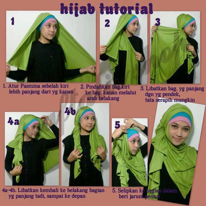 25 Best Images About Hijab Styles On Pinterest The Waterfall Simple Hijab Tutorial And Shawl