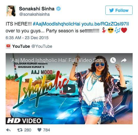 ANOKHI MEDIA - Blog / Sonakshi Sinha Makes Her Singing Debut With ...