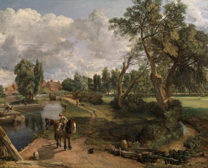 John Constable; Il mulino di Flatford; 1817; olio su tela; Tate Britain, Londra.