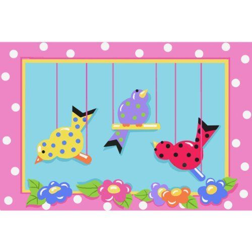 """Swingin Chicks Area Rug 39""""x58"""" by FindingKing. $104.99. Perfect for use in your bathroom, living room, kid's room or as a door mat. It is made of 100% nylon and measures approximately 39"""" x 58"""" (99.06 x 147.32 cm). This is a new Swingin' Chicks extra high pile area rug. Swingin' Chicks Extra High Pile Area Rug 39"""" x 58""""       This is a new Swingin' Chicks extra high pile area rug    Perfect for use in your bathroom, living room, kid's room or as a door mat    I..."""